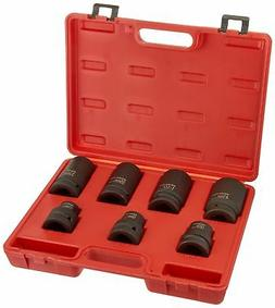 """Neiko 02487B Cr-Mo 1"""" Drive Impact Socket Set for Truck and"""