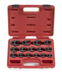 "Neiko 03324A 3/8"" and 1/2"" Drive Metric Crowfoot Wrench Set"