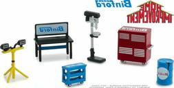 Greenlight 1/64 Home Improvement BINFORD Shop Tool Set HOBBY