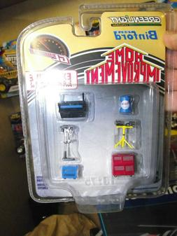 Greenlight 1/64 Home improvement Binford tool set NIB