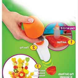 1 set Fruit Salad Carving Vegetable Fruit Arrangement Smooth