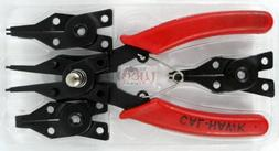 New 4 in 1 Snap Ring Pliers Plier Set Circlip Combination Re