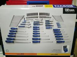 Kobalt 100-Piece household Tool Set with Hard Case
