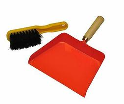 G & F 10039 JustForKids Dustpan and Brush 2-Piece Set