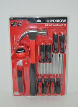 Workpro 11 Piece Home Tool Set Brand New