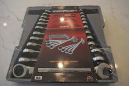 Gearwrench 12 Piece Metric Ratcheting Wrench Tool Set New 94