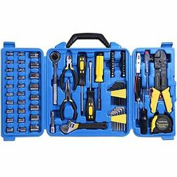 CARTMAN 122pcs Auto Tool Accessory Set, Tool Kit Set, Electr