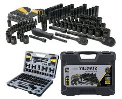 Stanley 123 Piece Mechanics Tool Set Hard Case Standard SAE