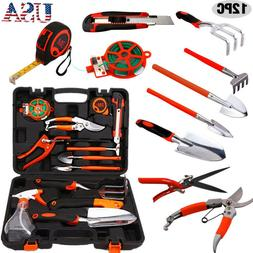 12Pc/Set Garden Professional Mechanics Kit Pruning Shear Saw