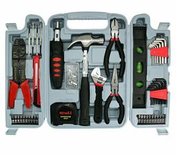 129 PCS Household Tool Kit Home Repair Tool Set with Storage