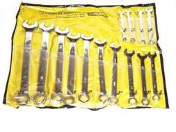14 PC COMBINATION WRENCH SET  METRIC SIZES SUPER LONG HANDLE