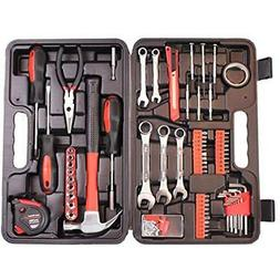 148-Piece Tool Set General Household Hand Kit With Plastic T