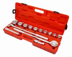 Cooper Hand Tools Crescent 181-CTK14SAE 14 Piece 3-4 Inch Dr