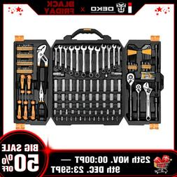 192 Piece Mechanics Tool Set Socket Wrench Set Auto Repair H