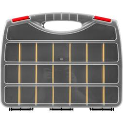 Stalwart 2 Part Organizer Box with 23 Compartments