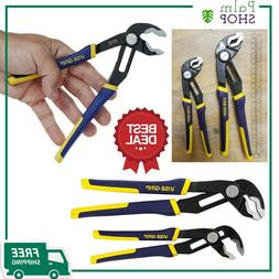 2 Piece Essentials Irwin Tools VISE-GRIP GrooveLock Pliers S