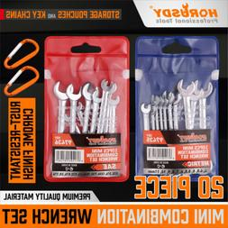 20PCS Combination Wrench Set Ignition Spanner Steel Tools Me