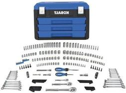 Kobalt 227-Piece Standard  and Metric Mechanic's Tool Set Wr