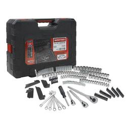 Craftsman 230 Pc Silver Finish Standard & Metric Mechanics T