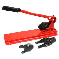 """24"""" Bench Type Swaging Tool Set w/ Crimper Cable Bolt Cutter"""