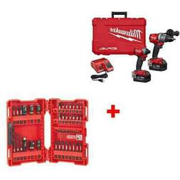 Milwaukee 2997-22 M18 FUEL 2-Tool Combo Kit w/ 48-32-4006 40