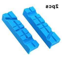 2pcs Bench Vise Magnetic Jaw Protection Strip Case Pad Clamp