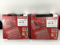 2x Craftsman 100-Piece Drilling and driving Accessory Kit 2