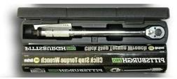 Pittsburgh - 3/8 in Drive Click Type Torque Wrench Tool