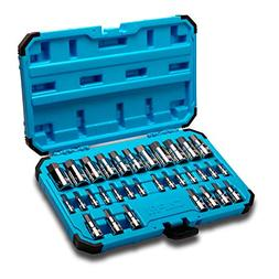 Capri Tools 30032 Master Hex Bit Socket Set, Metric & SAE, 3