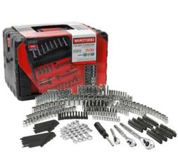 Craftsman 320 Piece Mechanics Tool Set With Case Wrenches SA