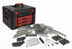 320 Piece Mechanics Repair Tool Set With Heavy Duty Tool Box