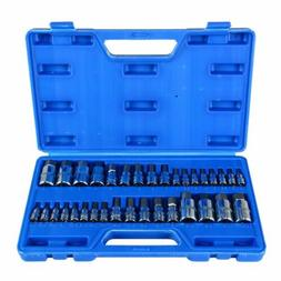 34pc Hex Key Master Allen Wrench Socket Bit For Ratchet Sock