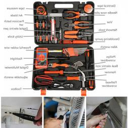 35pc Electrician's Screwdriver Wrench Bag Kit Tools Home Com