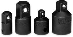 4 Pieces - EPAuto Impact Socket Adapter and Reducer Set, Cr-