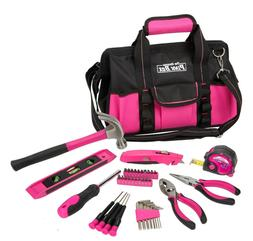 40-Piece Household Tool Set with Canvas Bag