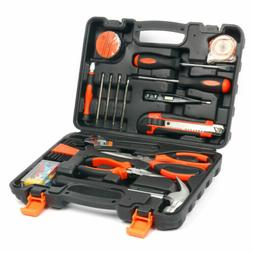 45 Piece Tool Set General Garden Household Hand Tool Kit Scr