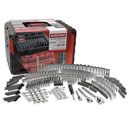 Craftsman 450 Piece Mechanics Tool Set W/Case Wrenches SAE M