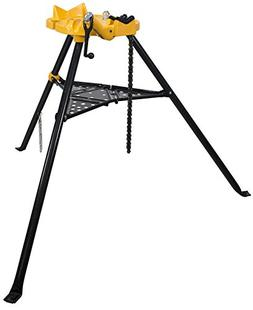 Steel Dragon Tools 460 6in. Tripod Pipe Chain Vise Stand fit