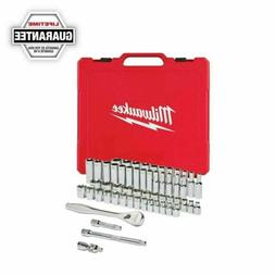 Milwaukee-48-22-9008 3/8 in. Drive 56 pc. Ratchet & Socket S