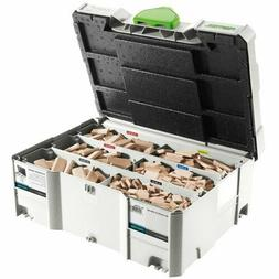 Festool 498899 Assorted Domino Beech Tenons and Cutters in T