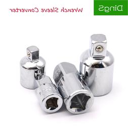 4pcs/<font><b>Set</b></font> 1/4 3/8 1/2 Drive Socket Adapte