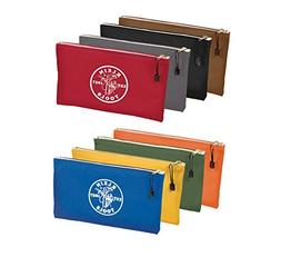 Klein Tools 5140 + 5141 = 8 Colored Canvas Zipper Bags - YES