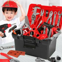 New Construction Tools Deluxe 54 Piece Kids Toy Set, Sets Pr