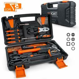 TACKLIFE 57-Piece Home Tool Kit - General Household Tool Set