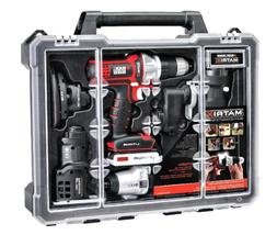 6 Tools Combo Kit Storage Case Set Black Decker Combination