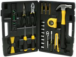 Stanley 65-Piece Homeowner's Tool Kit Hand Tool Set Full Pol