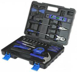 65-Piece Tool Set - General Household Hand Tool Kit with Too