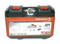 CRESCENT 70 PIECE PROFESSIONAL TOOL SET - CTK70CMP
