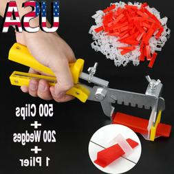 701pc Clip Tile Leveling System Kit Floor Wall 1.5mm Tile Sp