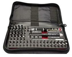 Wiha 75971 Master Tech Micro Bit 68 Piece Set In Travel Case